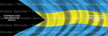 Bahamas Flag Rear Window Graphic