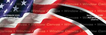 Amer. Pride, Trinidad Hrtg. Flag Rear Window Graphic