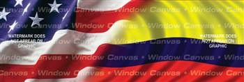 Amer. Pride, Columbia Hrtg. Flag Rear Window Graphic