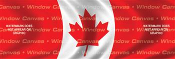 Canada Flag Rear Window Graphic