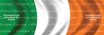 Ireland Flag Rear Window Graphic