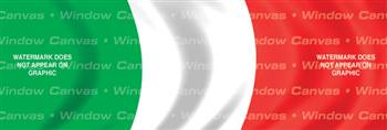 Italy Flag Rear Window Graphic
