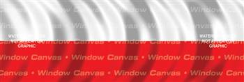 Poland Flag Rear Window Graphic