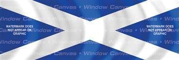 Scotland Flag Rear Window Graphic