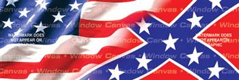 American Hrtg.,Southern Pride Flag Rear Window Graphic