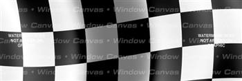 Finish Line Flag Rear Window Graphic