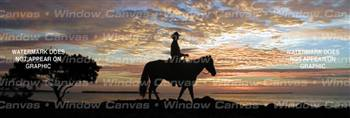 Lone Ranger Horse Rear Window Graphic