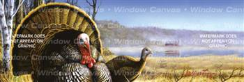Spring Turkey Wildlife Rear Window Graphic