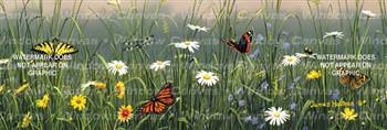 Butterfly Nature Rear Window Graphic