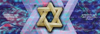 Star Of David Misc Rear Window Graphic
