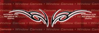 Tribal Femme Tattoo Rear Window Graphic
