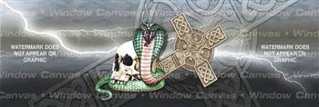 Celtic Storm Tattoo Rear Window Graphic