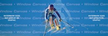 Ski Lift Sporting Life Rear Window Graphic