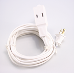 Extension Cord, White