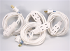 Extension Cord, White 4-Pack