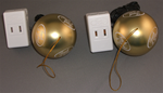 Touch Ornament Ball Switch, 2-Pack