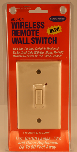 Wireless Wall Switch Add On