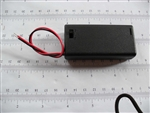 2xAA (3vdc) Battery Case Enclosure w/switch