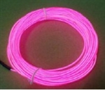 4.3mm CL EL Wire - PK - Pink