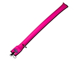 Diver's Alert Marker, 3.3' (1 m ) oral inflate only Hot pink 14.030.005  *Buy at DIVESEEKERS.com 888-SCUBA-47