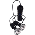 Apollo 13.5 w/ dual 21 watt HID heads and E/O AVLS  *Buy at DIVESEEKERS.com 888-SCUBA-47