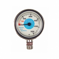 Submersible PSI gauge for Stage, 0-5000 61.030.004  *Buy at DIVESEEKERS.com 888-SCUBA-47