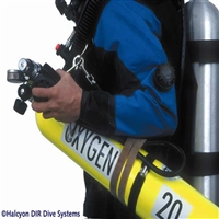 GUE MOD decal, each: Oxygen 20 66.000.020  *Buy at DIVESEEKERS.com 888-SCUBA-47