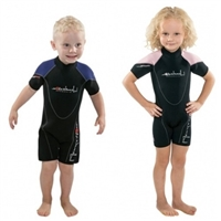 Henderson 3mm Child Back Zip Shorty *Buy henderson at DIVESEEKERS.COM 888-SCUBA-47