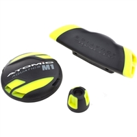 COLOR KIT - M1 (COVER, ADJ. KNOB & EXHAUST DEFLECTOR) YELLOW, 02-0076-3P, Buy Atomic Aquatics at DIVESEEKERS.com 888-SCUBA-47