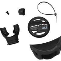 COLOR KIT - B2 (COVER, ADJ. KNOB & EXHAUST DEFLECTOR) Black, 02-0306-3P, Buy Atomic Aquatics at DIVESEEKERS.com 888-SCUBA-47