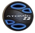 COLOR KIT - Z2 (COVER, ADJ. KNOB & EXHAUST DEFLECTOR) BLUE, 02-0402-3P, Buy Atomic Aquatics at DIVESEEKERS.com 888-SCUBA-47