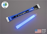 "Cyalume 6"" SnapLight Blue Foil Bulk @100, Buy at DIVESEEKERS.COM 888-SCUBA-47"