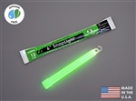 "Cyalume 6"" SnapLight Green Foil Bulk @500 , Buy at DIVESEEKERS.COM 888-SCUBA-47"