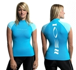 Fourthelement Cap sleeved Hydroskin Womens,   *Buy Fourth Element at DIVESEEKERS.com 888-SCUBA-47