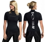 Fourthelement Short sleeved Hydroskin Womens, *Buy Fourth Element at DIVESEEKERS.com 888-SCUBA-47