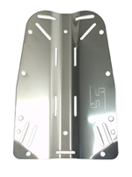 Stainless Steel Backplate 10.010.000  *Buy at DIVESEEKERS.com 888-SCUBA-47