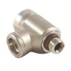 "L -Shaped 3/8""-24 Male TO (2ports) 3/8""-24 Female *Buy OmniSwivel International from DIVESeekers.com 888-SCUBA-47"