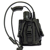 Transceiver Pouc - Securely Mounts ANY of our SSB/MAG/SW Diver Unit to your tank , 200038-000 , *Buy Ocean Technology Systems OTS at Diveseekers.com 888-SCUBA-47