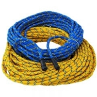 Comrope, yellow, 50' Assembled, AMP-4M Connector Topside (for MK-7) to OTS-4P Hiuse Connector on Diver End , 910219-050 , *Buy Ocean Technology Systems OTS at Diveseekers.com 888-SCUBA-47