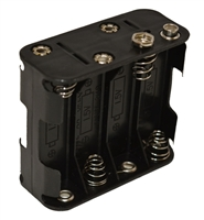 8-cell Battery Holder. Holds 8 AA Alkaline Batteries. Used w/SSB-2010, 2001B-2, 1001B, ComBox & MK-7 , H024 , *Buy Ocean Technology Systems OTS at Diveseekers.com 888-SCUBA-47