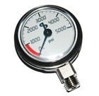 SDS-GDA-AP518 Diluent Pressure Gauge PSI *Buy Silent Diving Systems AP Valves at www.DIVESEEKERS.com 888-SCUBA-47