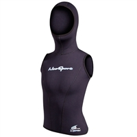 Neosport XSPAN 5/3mm Womens Hooded Vest *Buy Neosport at DIVESEEKERS.COM 888-SCUBA-47