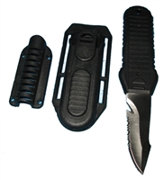 Trident BCD Knife With Hose Mount TRI-KN09 *Buy Trident at DIVESEEKERS.com 888-SCUBA-47