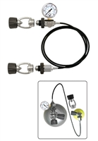 Deluxe Cylinder Equalizer with DuoKev HP Hose - Buy XS SCUBA at DIVESEEKERS.com 888-SCUBA-47