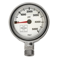"Highland Thin Line Pressure Gauge 2"" *Buy Highland at DIVESEEKERS.COM 888-SCUBA-47"
