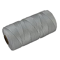 # 24 braided nylon line, White 500'  *Buy at DIVESEEKERS.com 888-SCUBA-47