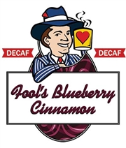 Fool's Decaf Blueberry Cinnamon / 12oz