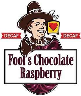 Fool's Decaf Chocolate Raspberry / 12oz