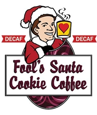 Fool's Decaf Santa Cookie Coffee