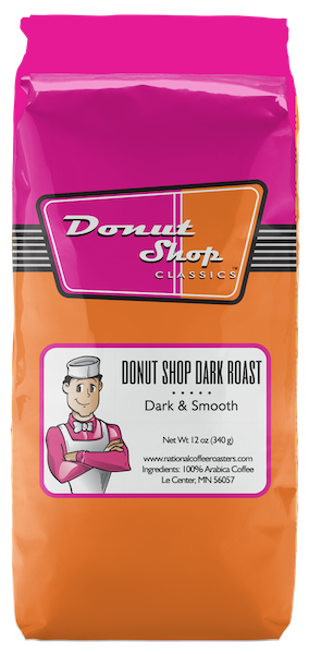 Donut Shop Dark Roast 12oz